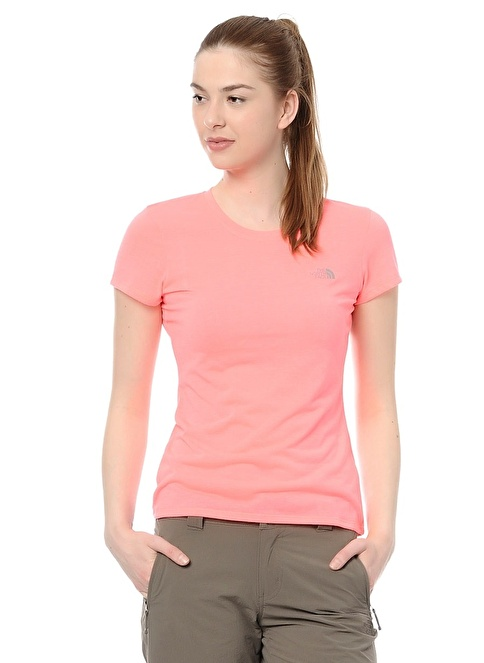 The North Face T-Shirt Pembe